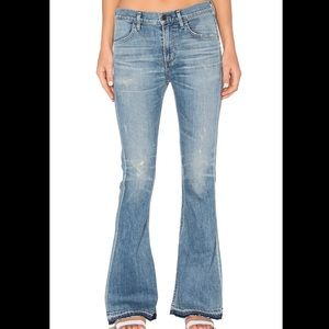 Citizens Of Humanity Drew Flip Flop Jeans